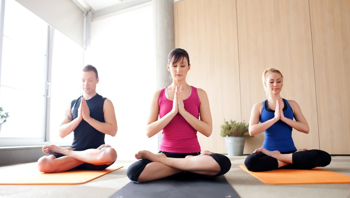 Easy and gentle Yoga