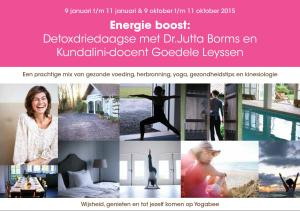 Domburg Detox Weekend